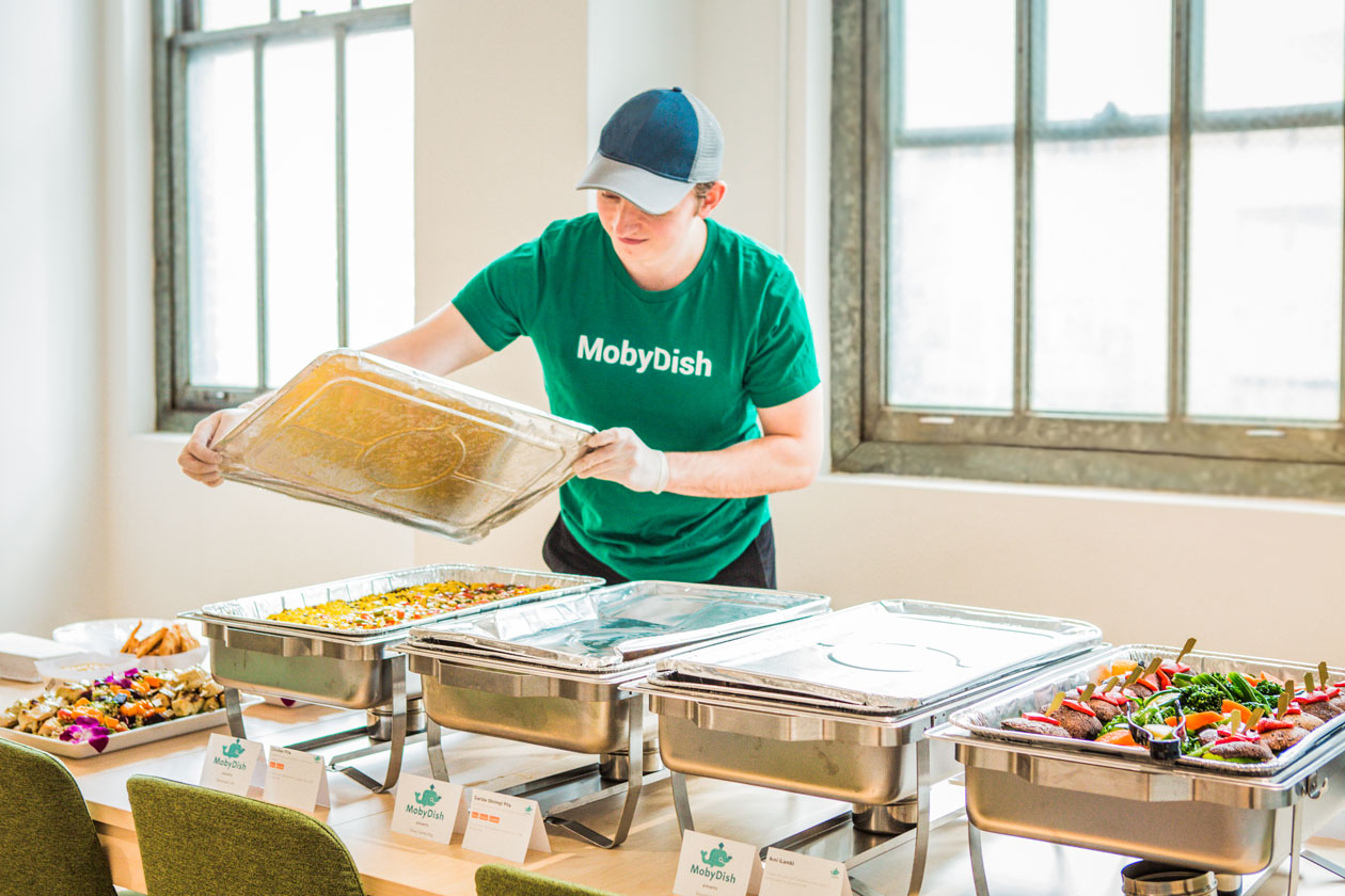 Mobydish office catering NYC picture