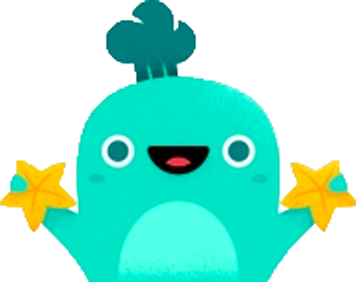 excited whale